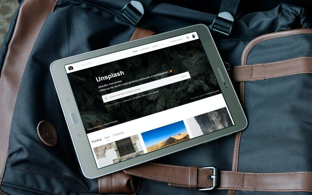 Foto's direct vanuit Unsplash in je WordPress website plaatsen