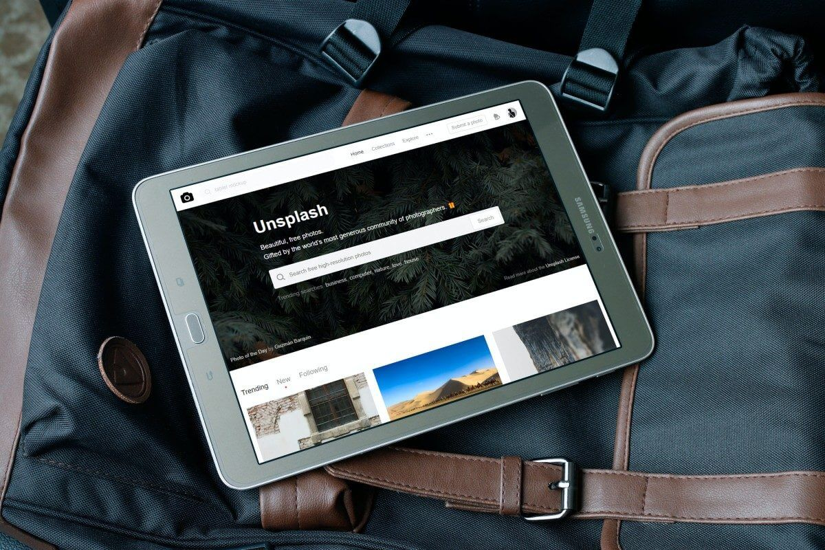 Unsplash foto's direct naar WordPress